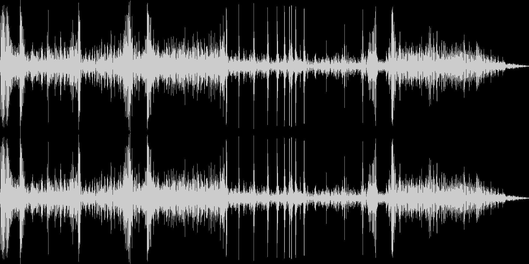 打撃・骨折の音02の未再生の波形