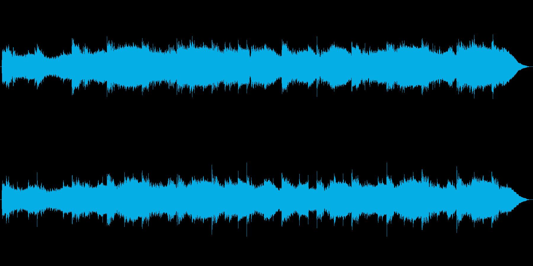 生命の神秘を感じるヒーリングミュージックの再生済みの波形