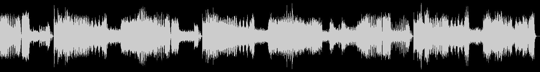 モーツァルト交響曲第25番ト短調の未再生の波形