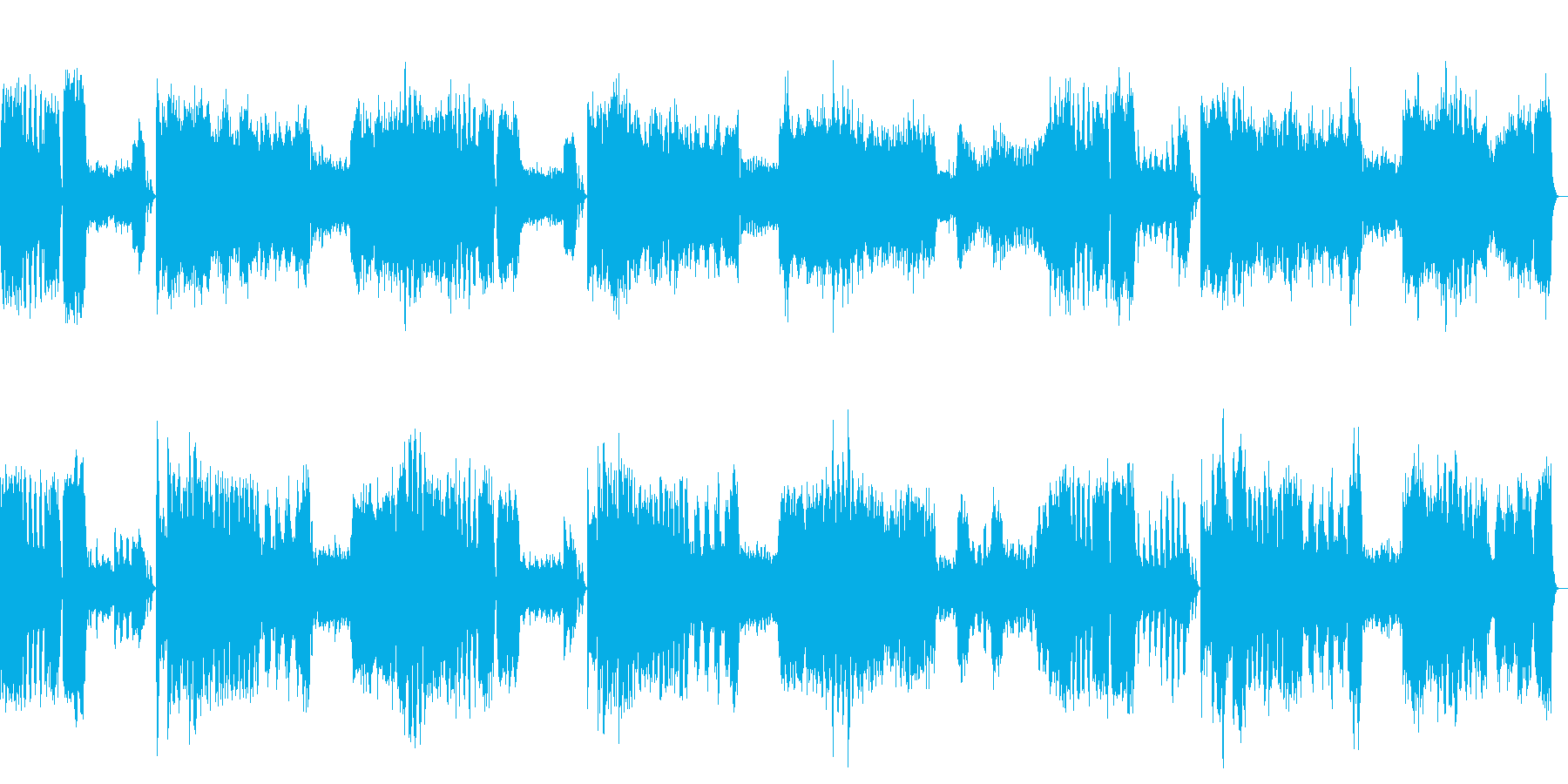 モーツァルト交響曲第25番ト短調の再生済みの波形