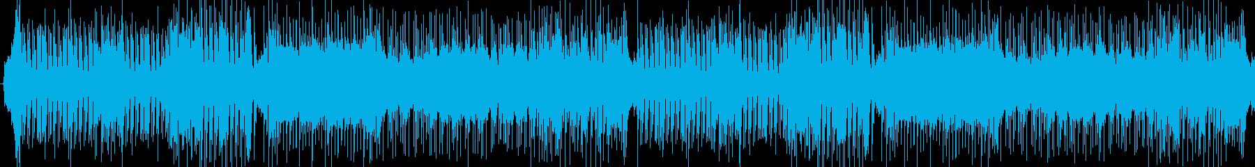 ゲーム用素材/通常バトル曲の再生済みの波形