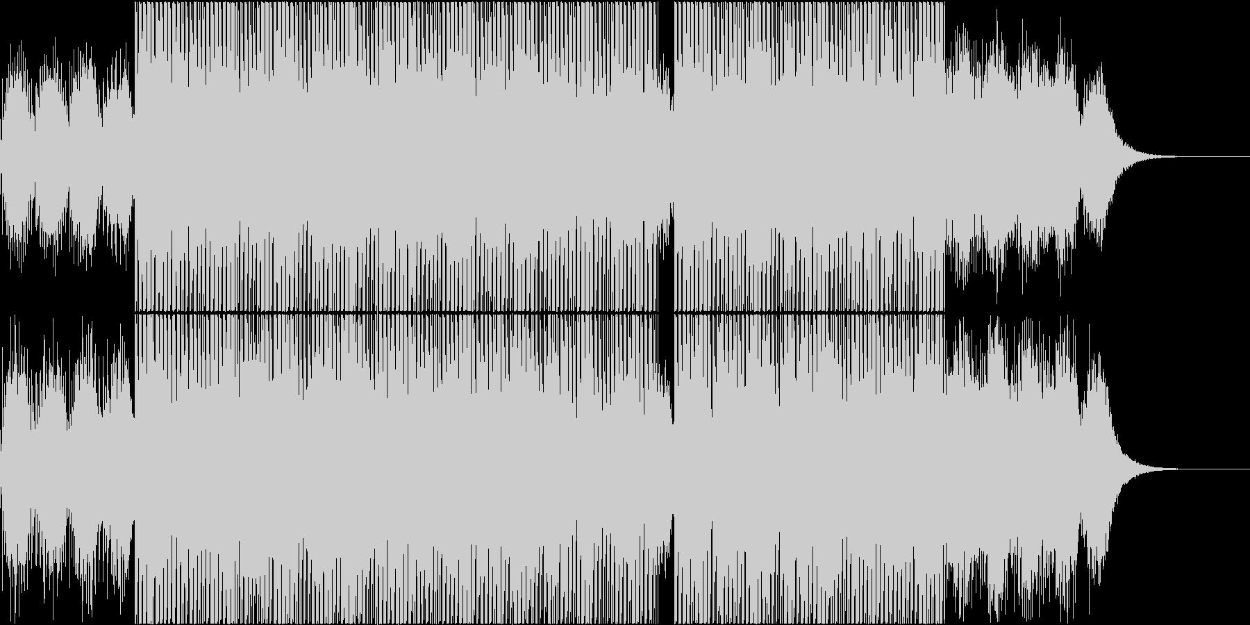 宇宙的な感じのアンビエント、エレクトロの未再生の波形