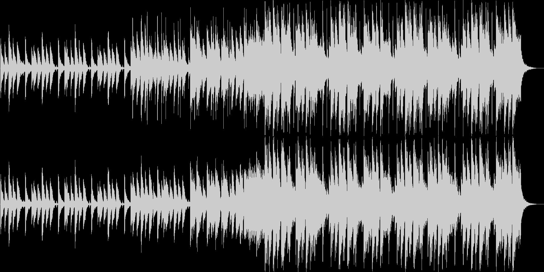 80'sポップ 映像 CM の未再生の波形
