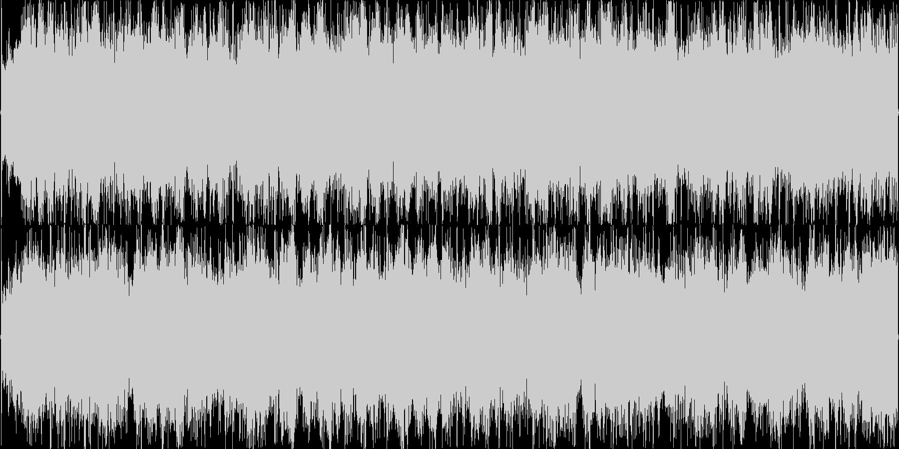 キュートなガールズコーラス入りBGMの未再生の波形