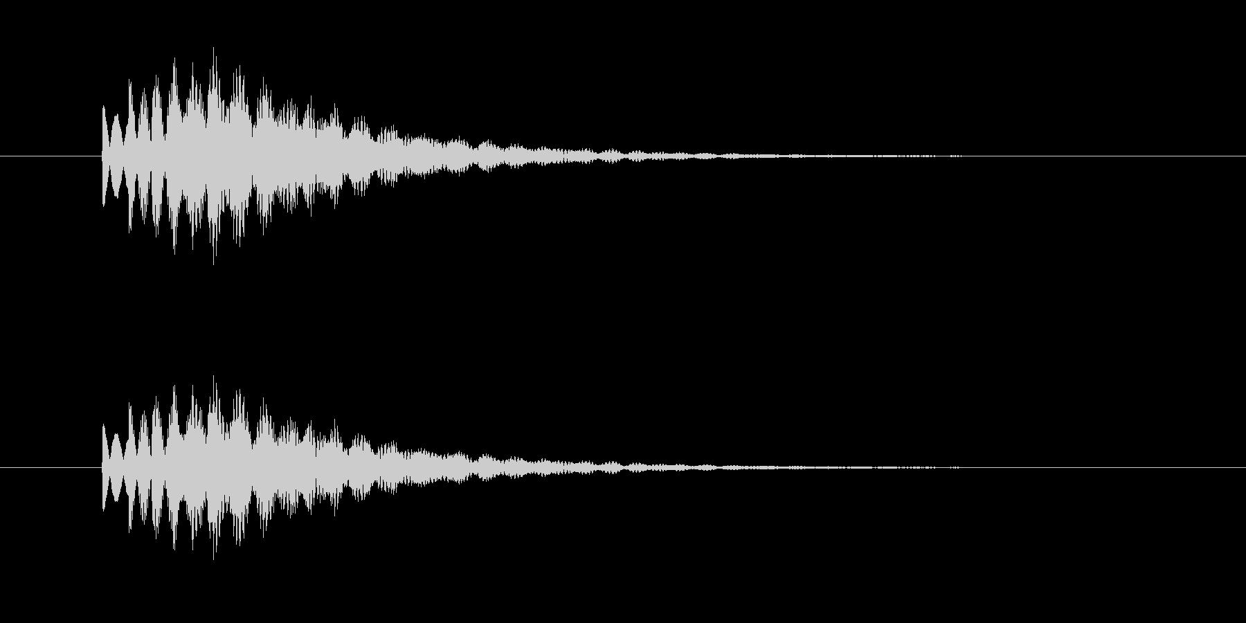 チャララン(透明感、キラキラ)の未再生の波形
