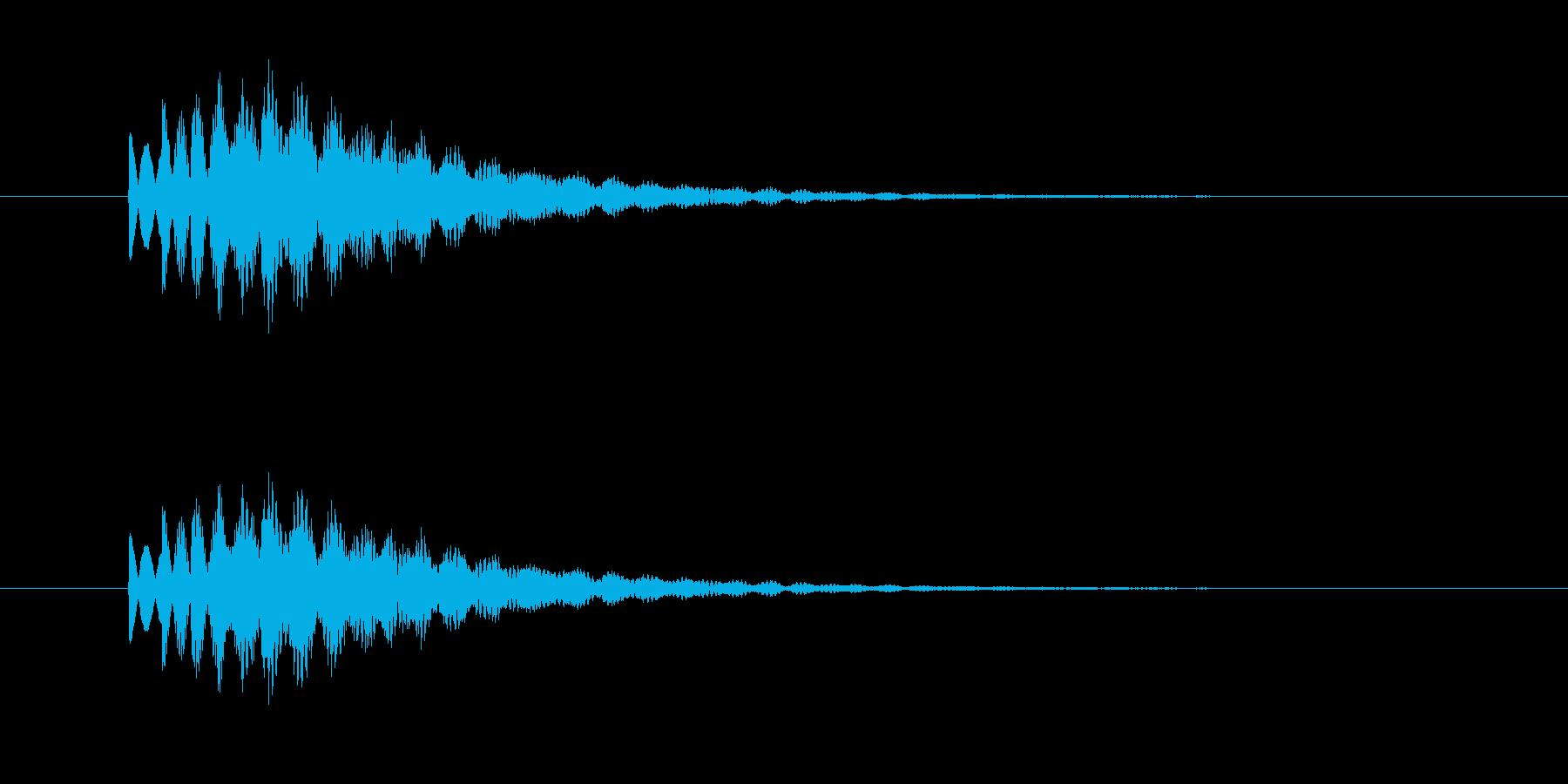 チャララン(透明感、キラキラ)の再生済みの波形