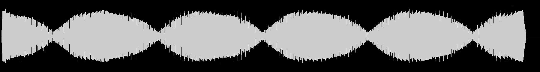 ワープエンジン(揺らぐ高音の鐘の様な音)の未再生の波形
