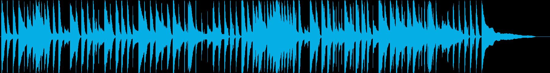 流行りのライトなアコースティックサウンドの再生済みの波形