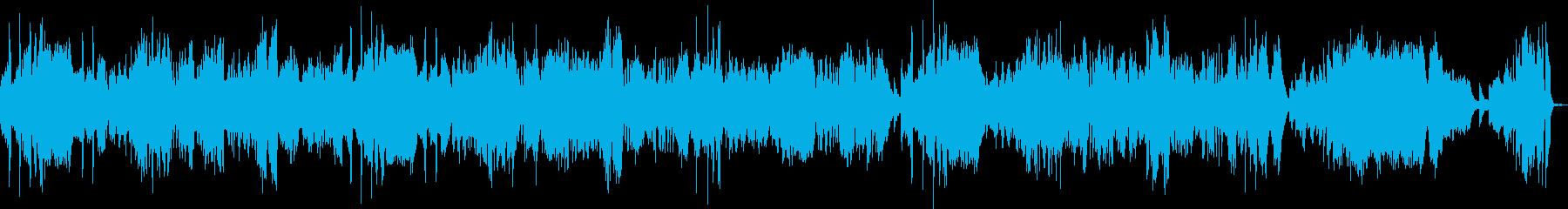 月光3楽章(ピアノソロ)の再生済みの波形