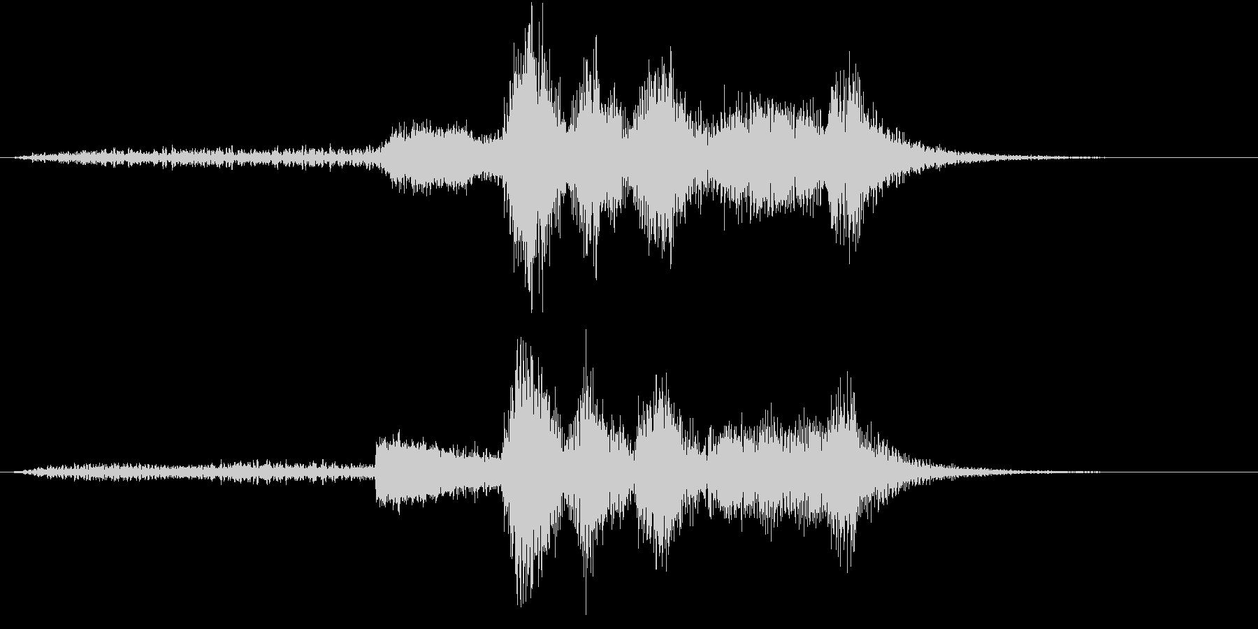 ハロウィン系ジングル3-1の未再生の波形