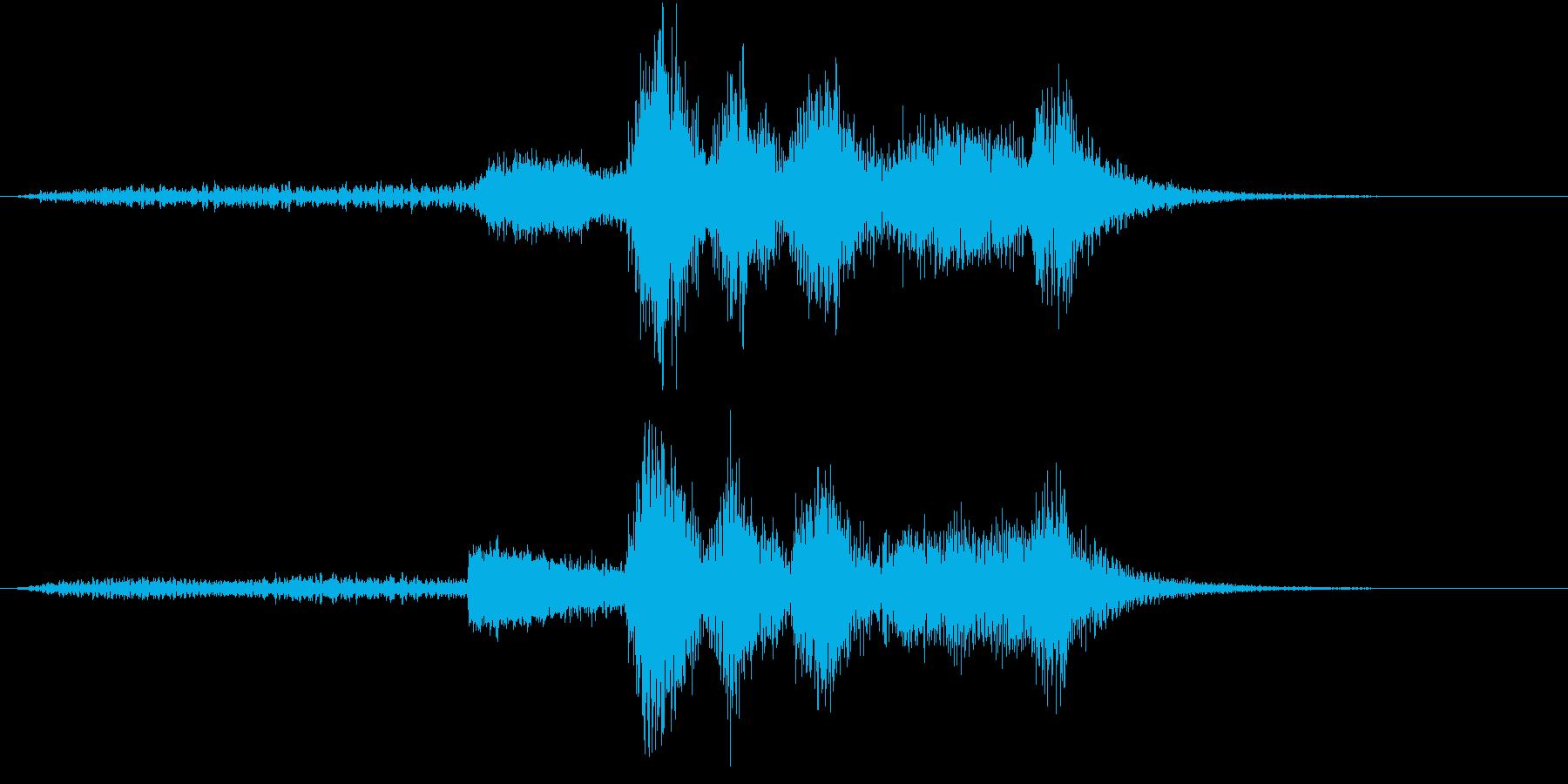 ハロウィン系ジングル3-1の再生済みの波形