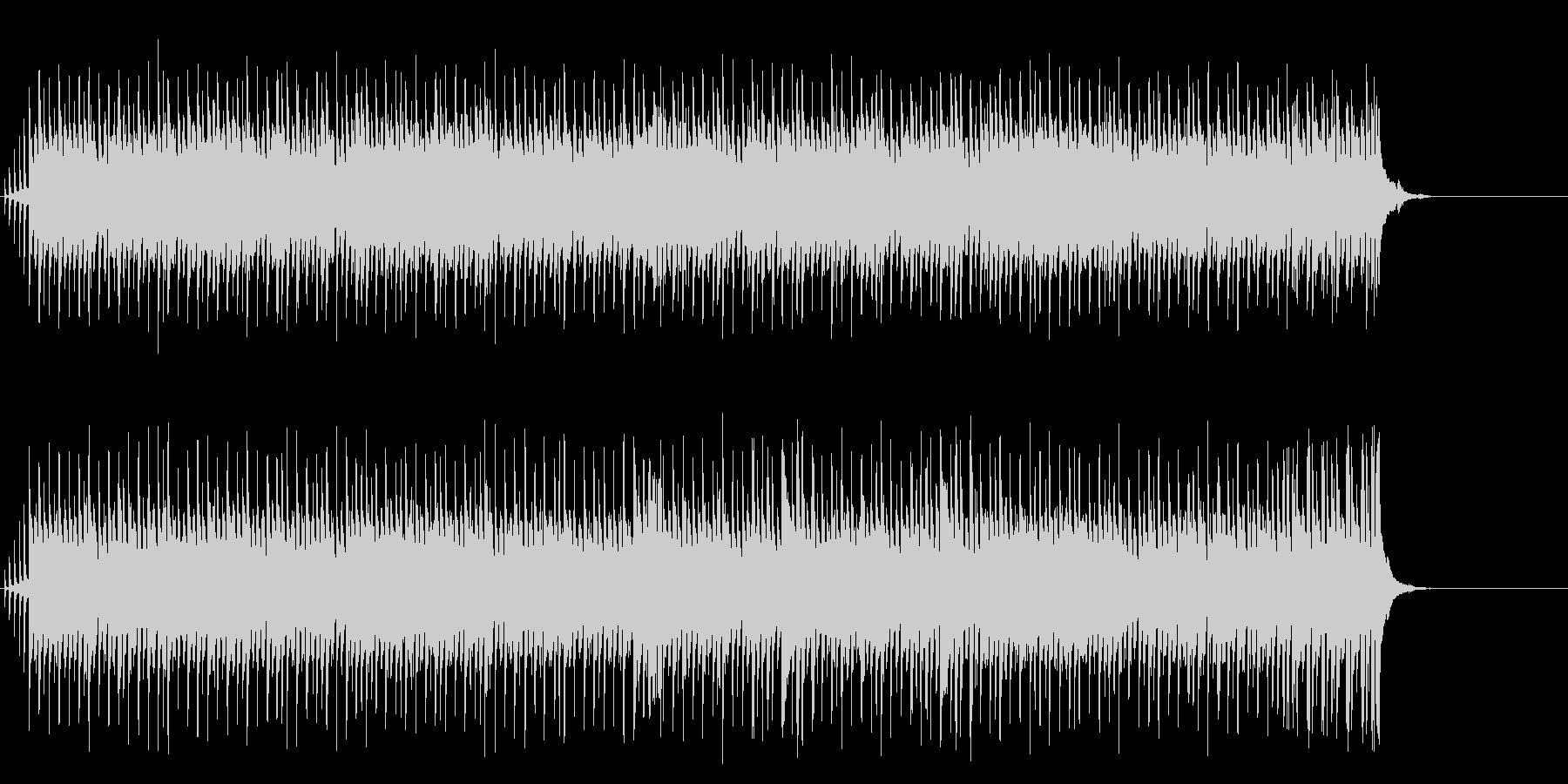 メロディーとビート感が躍動的なポップの未再生の波形