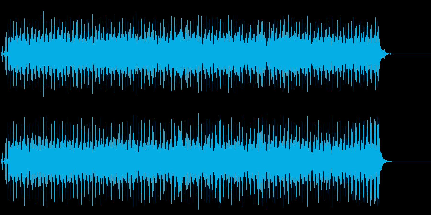 メロディーとビート感が躍動的なポップの再生済みの波形