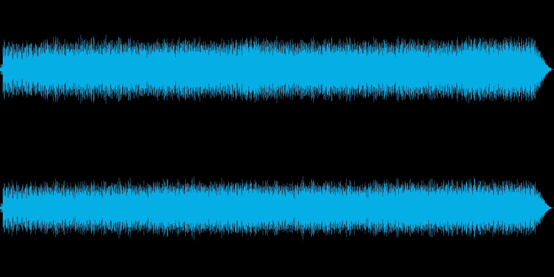 ライバルとのレースまたは戦闘時のBGMの再生済みの波形