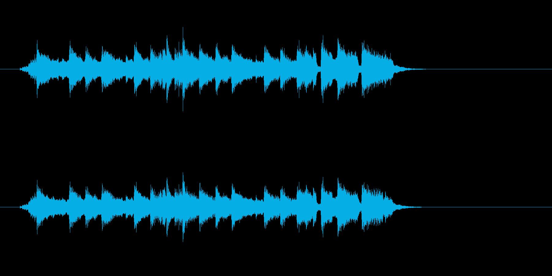 かわいい リラックス ほのぼの 日常の再生済みの波形