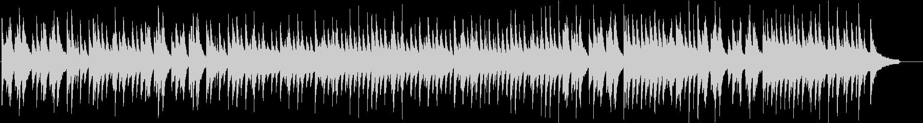 結婚式入場をイメージしたピアノソロBGMの未再生の波形