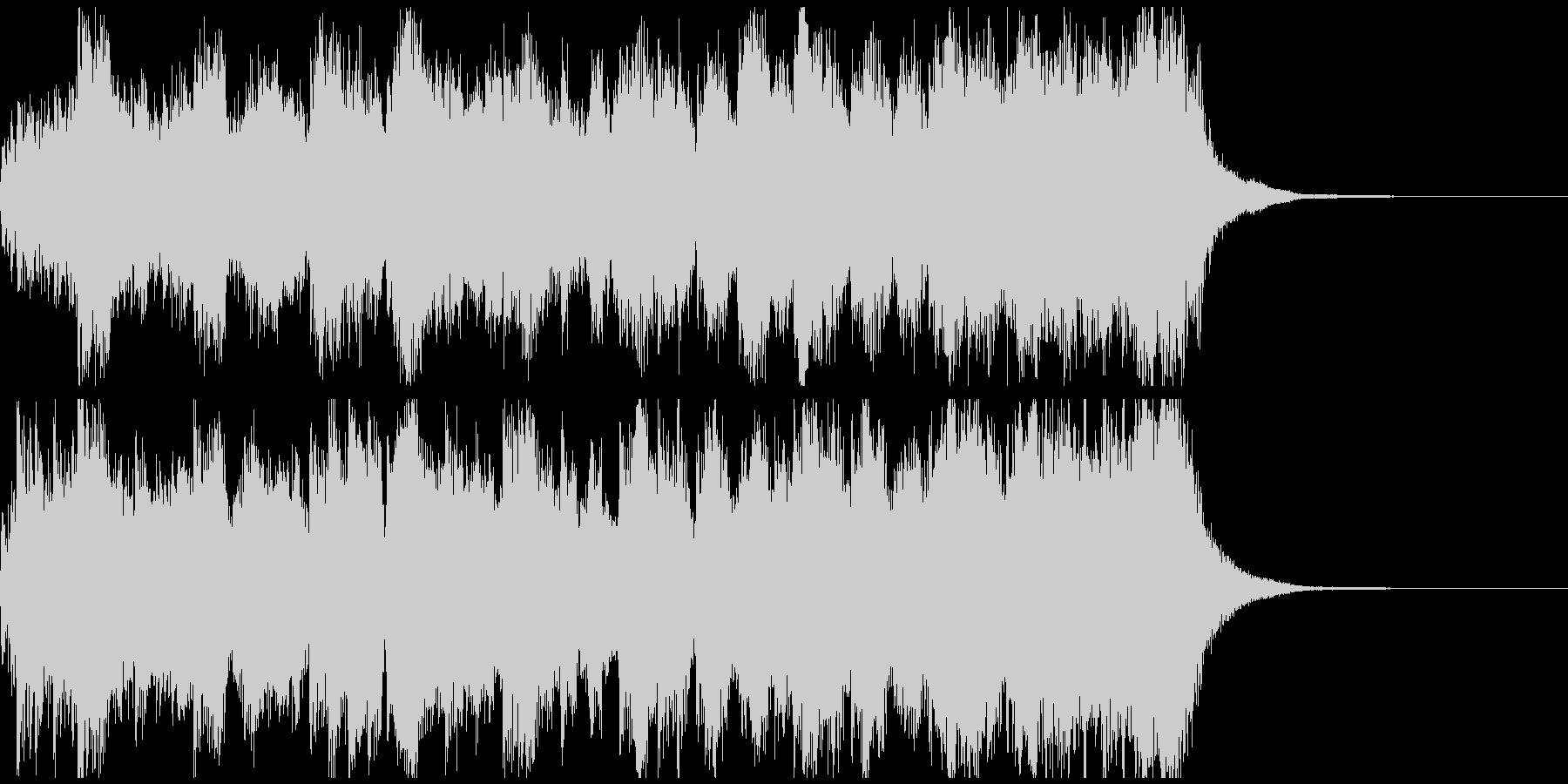 RPG風ファンファーレ ジングル約15秒の未再生の波形