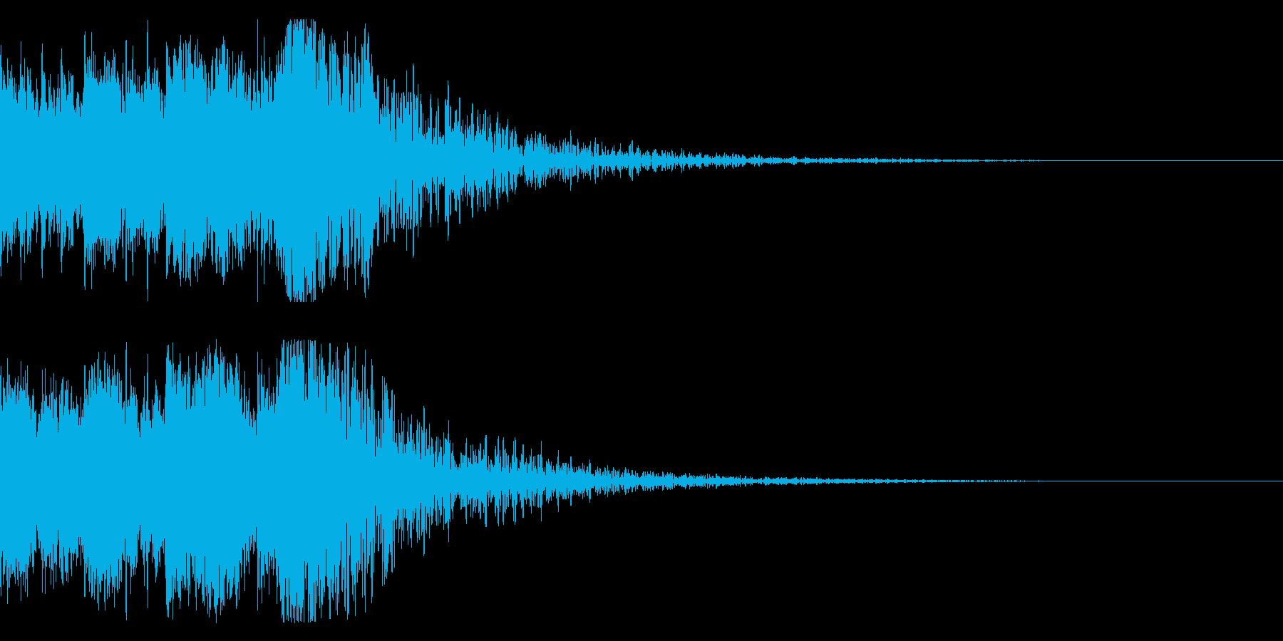 和風 オーケストラヒット ジングル!6bの再生済みの波形