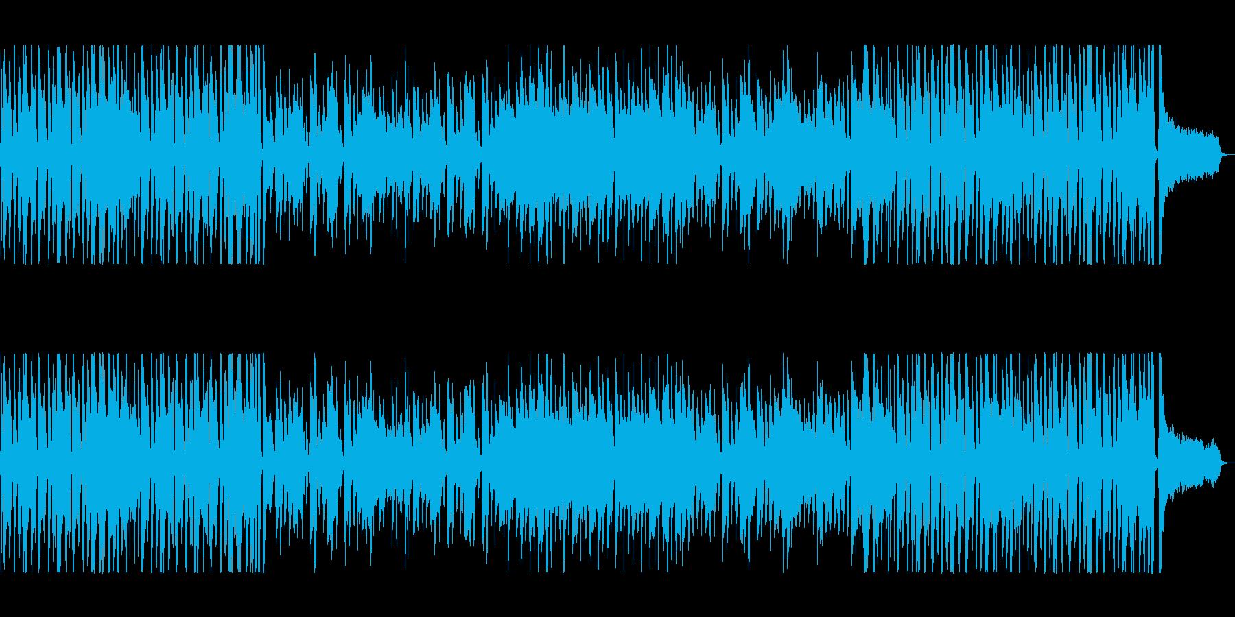 カントリー感のある軽快なテンポのポップスの再生済みの波形