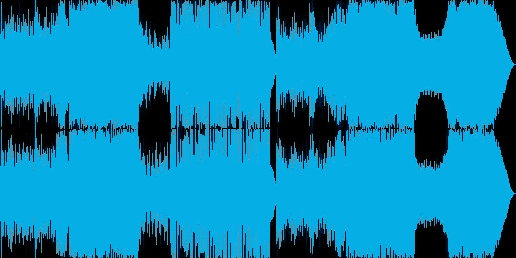 ピアノが印象的な切ないEDMの再生済みの波形