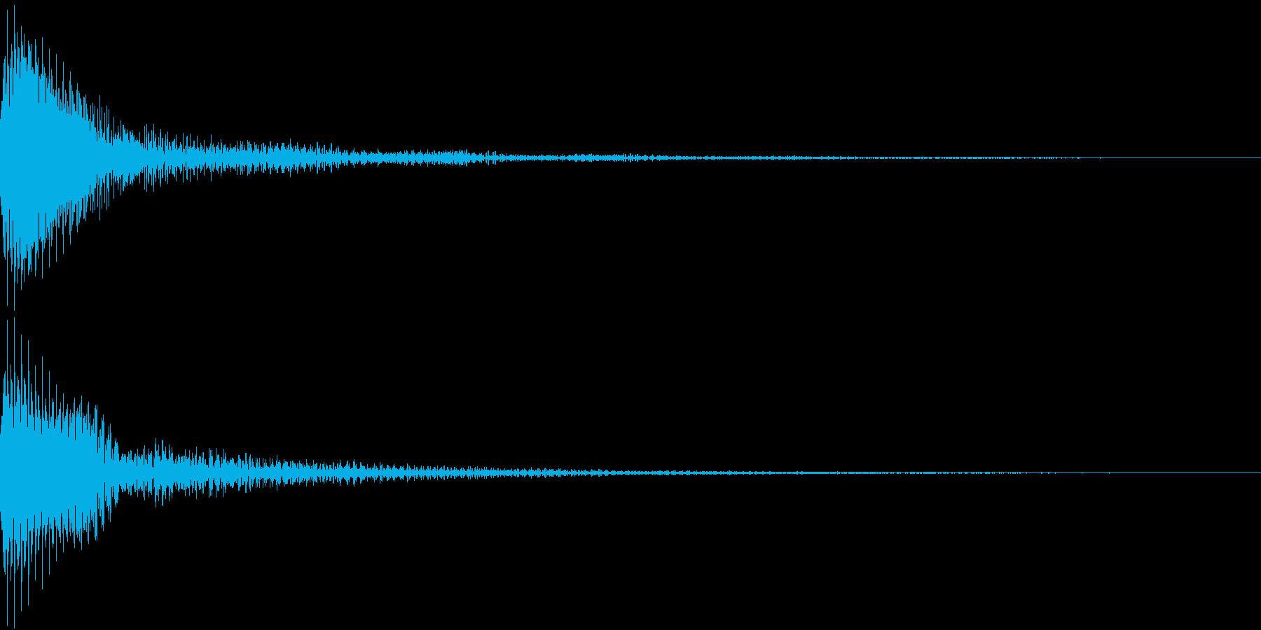 Moog ファットなコマンド音 3の再生済みの波形