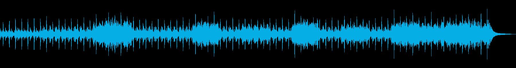 南国の村をイメージした日常的な曲の再生済みの波形