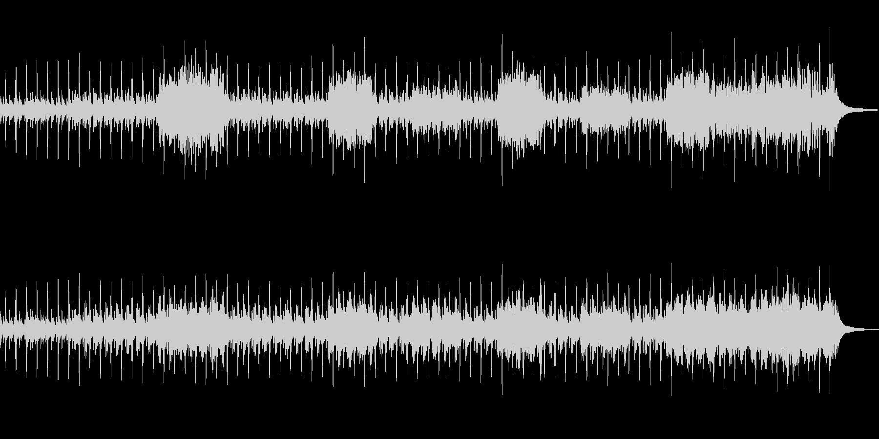 南国の村をイメージした日常的な曲の未再生の波形