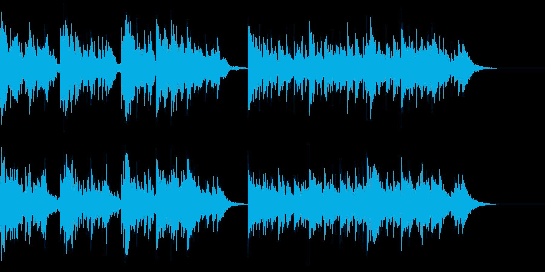 動画のBGM用に作成した小曲です。の再生済みの波形