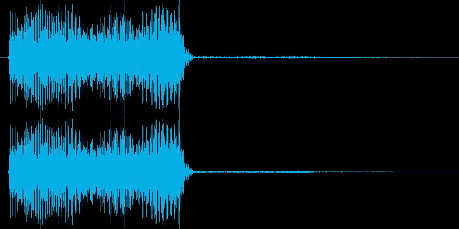 テロリラン_未来(スロットでの確定音)の再生済みの波形