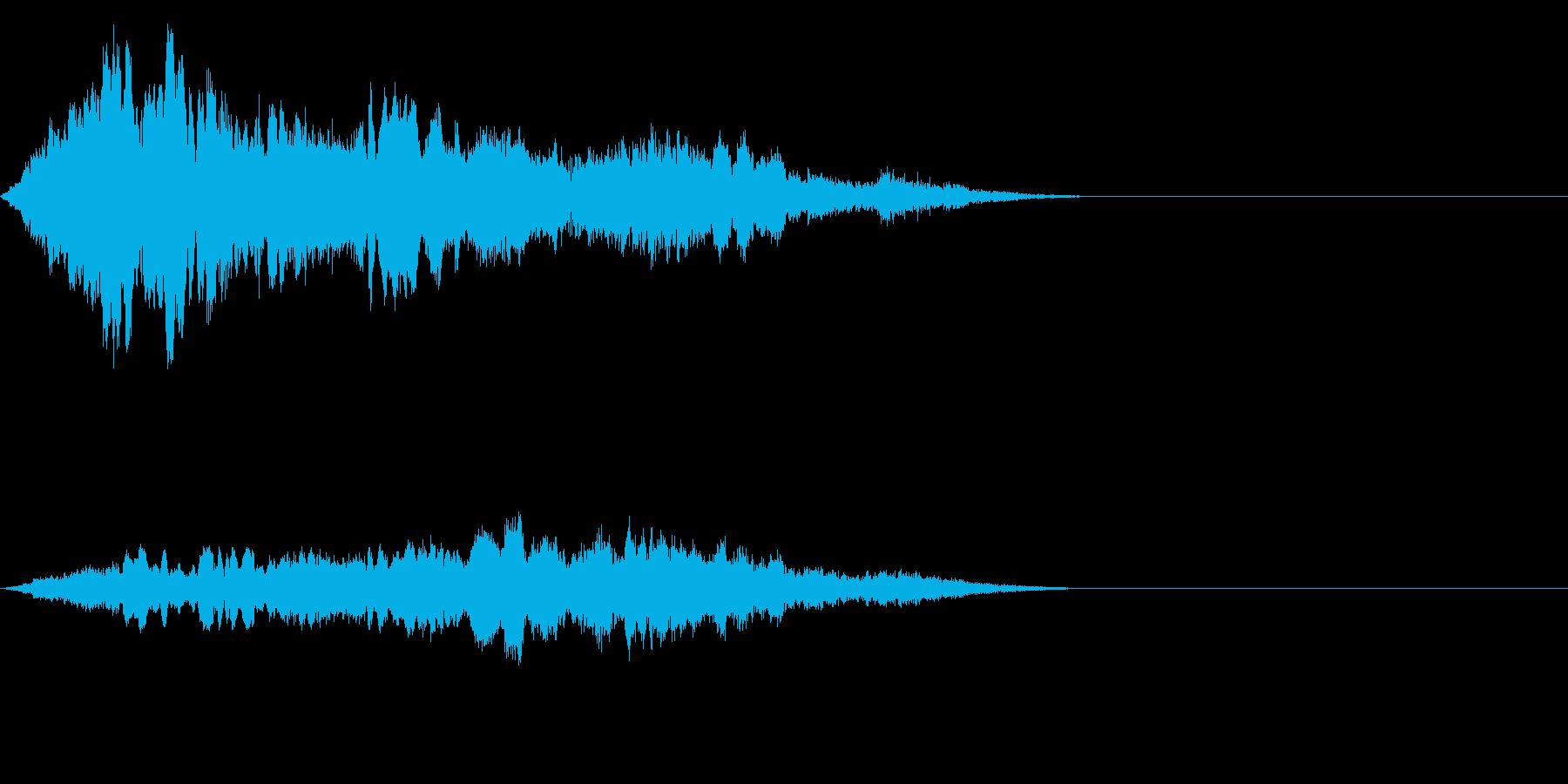 F1などのレース、エンジン音に最適!16の再生済みの波形