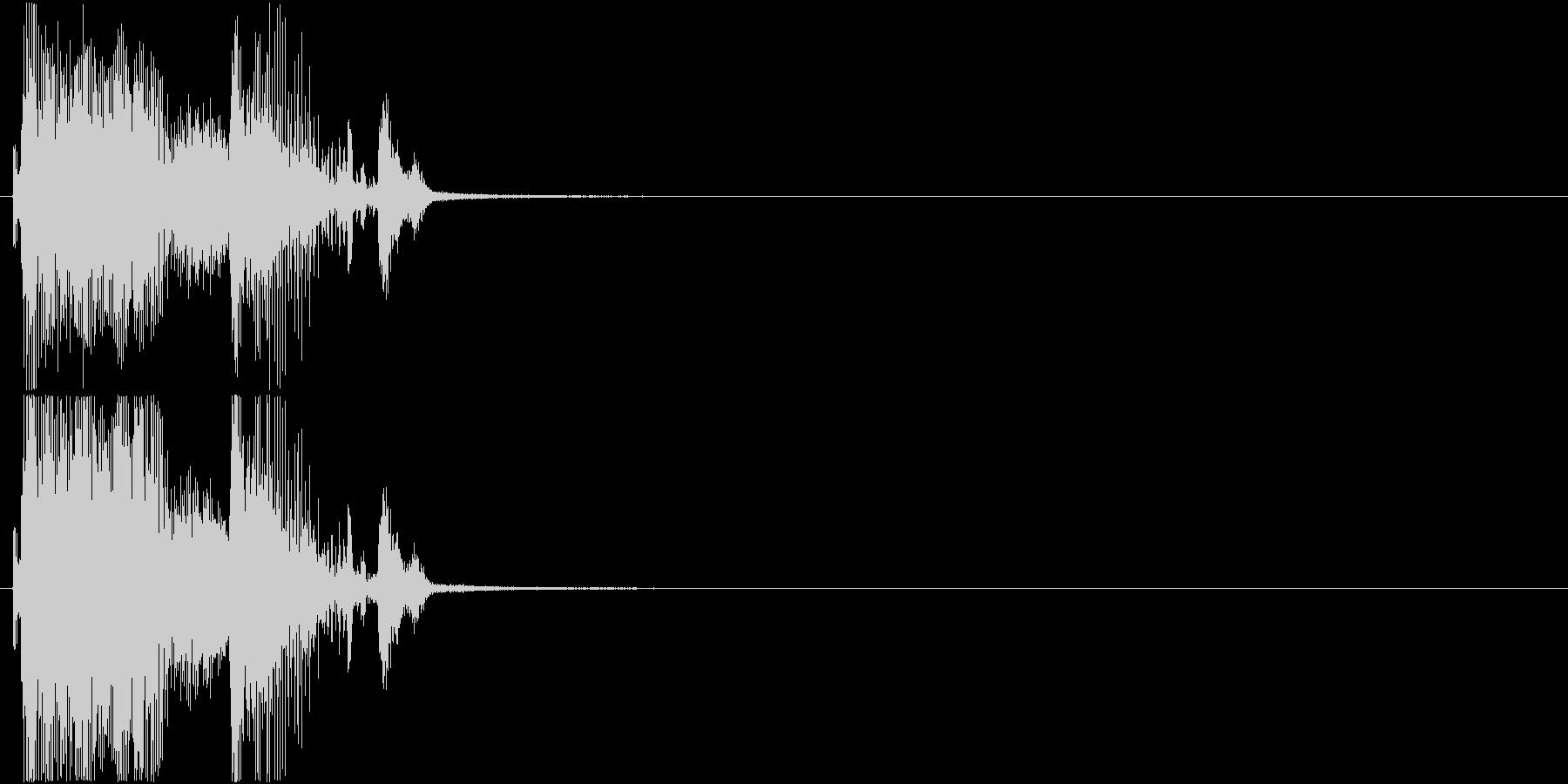 「パーフェクト」ゲーム・アプリ用1の未再生の波形