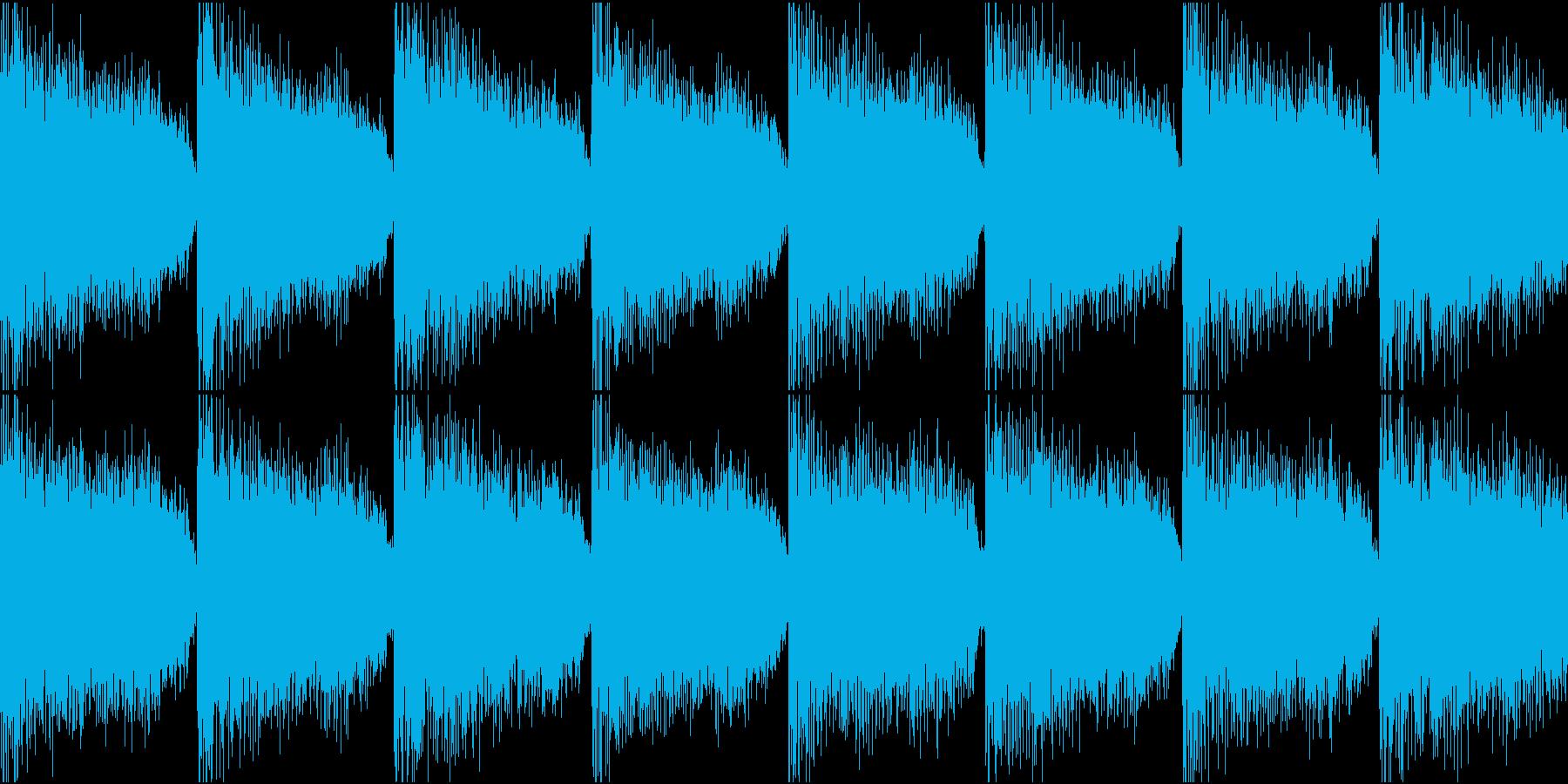 サイレン 緊急 防災 アラーム 警報 1の再生済みの波形