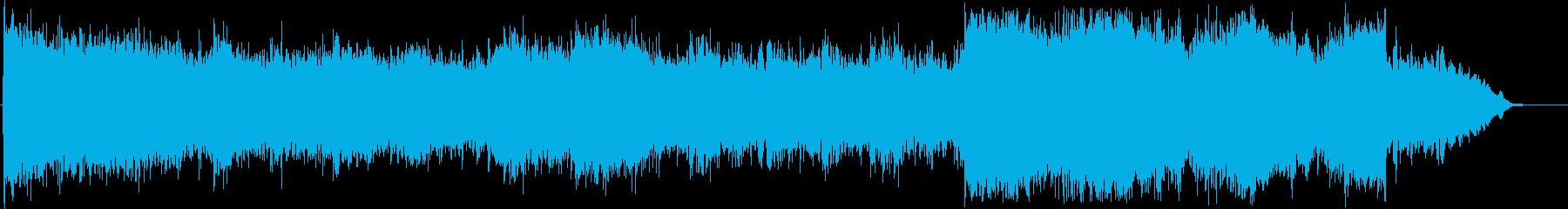 スタイリッシュな近未来的シンセポップの再生済みの波形