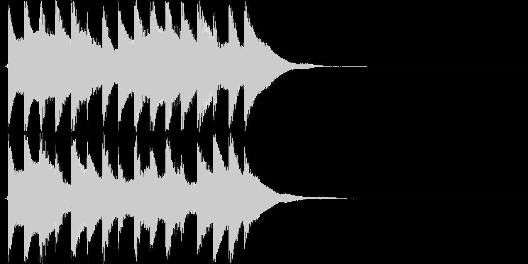 ピロピロピロピロ(伏せ音、自主規制)の未再生の波形
