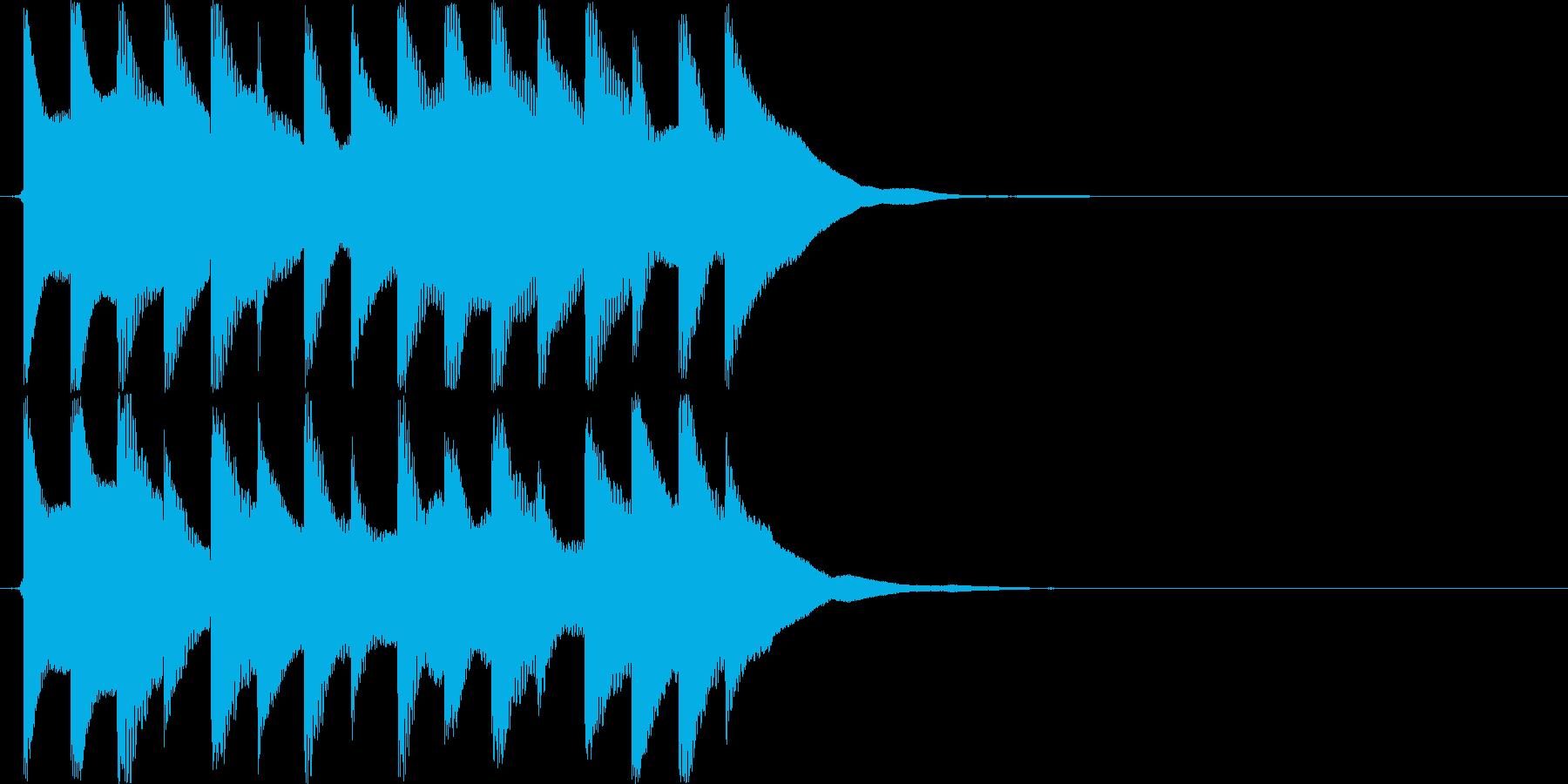 ピロピロピロピロ(伏せ音、自主規制)の再生済みの波形