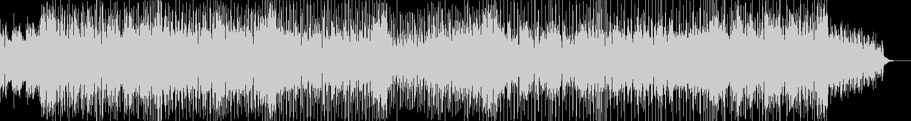 シンセアルペジオが印象的な疾走感のある曲の未再生の波形