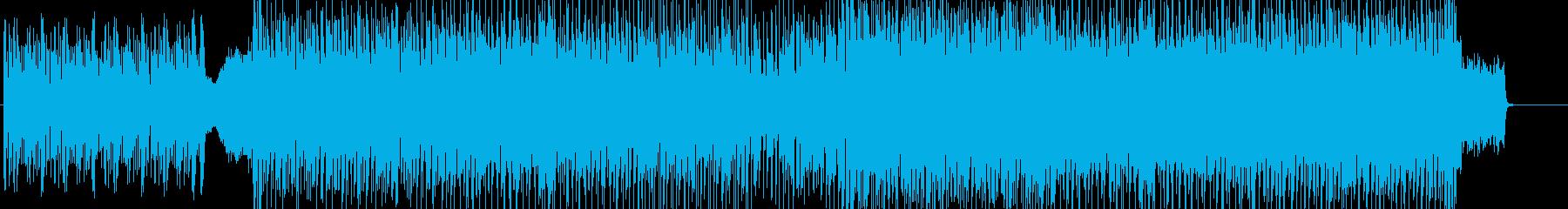 緊迫感、エレクトロニカ&パーカッション系の再生済みの波形