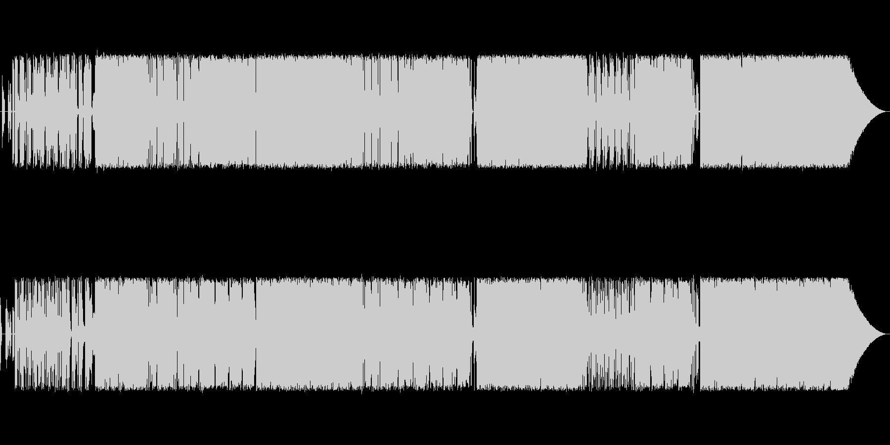 過激な歌詞と曲調のロックポップスの未再生の波形