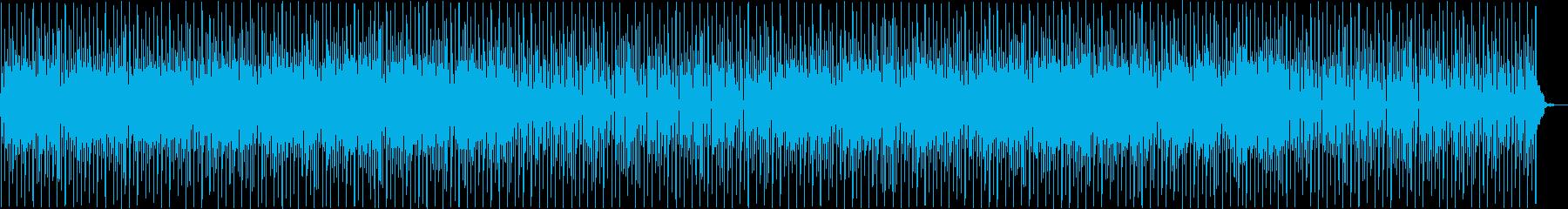 優しく楽しいポップスの再生済みの波形