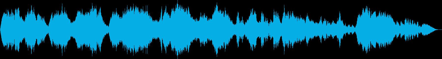 クラリネット五重奏曲第2楽章(抜粋)の再生済みの波形