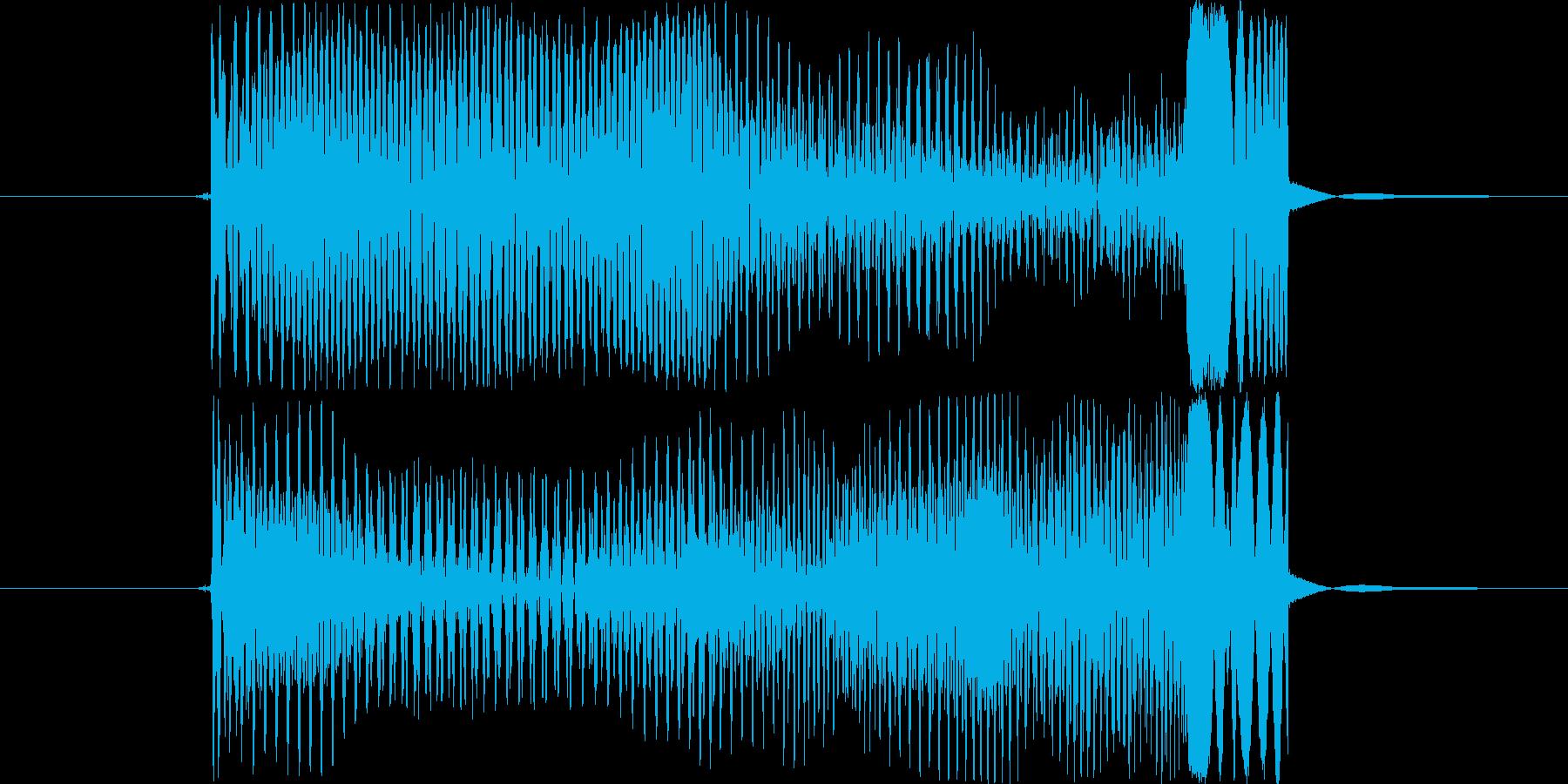 ポィンの再生済みの波形