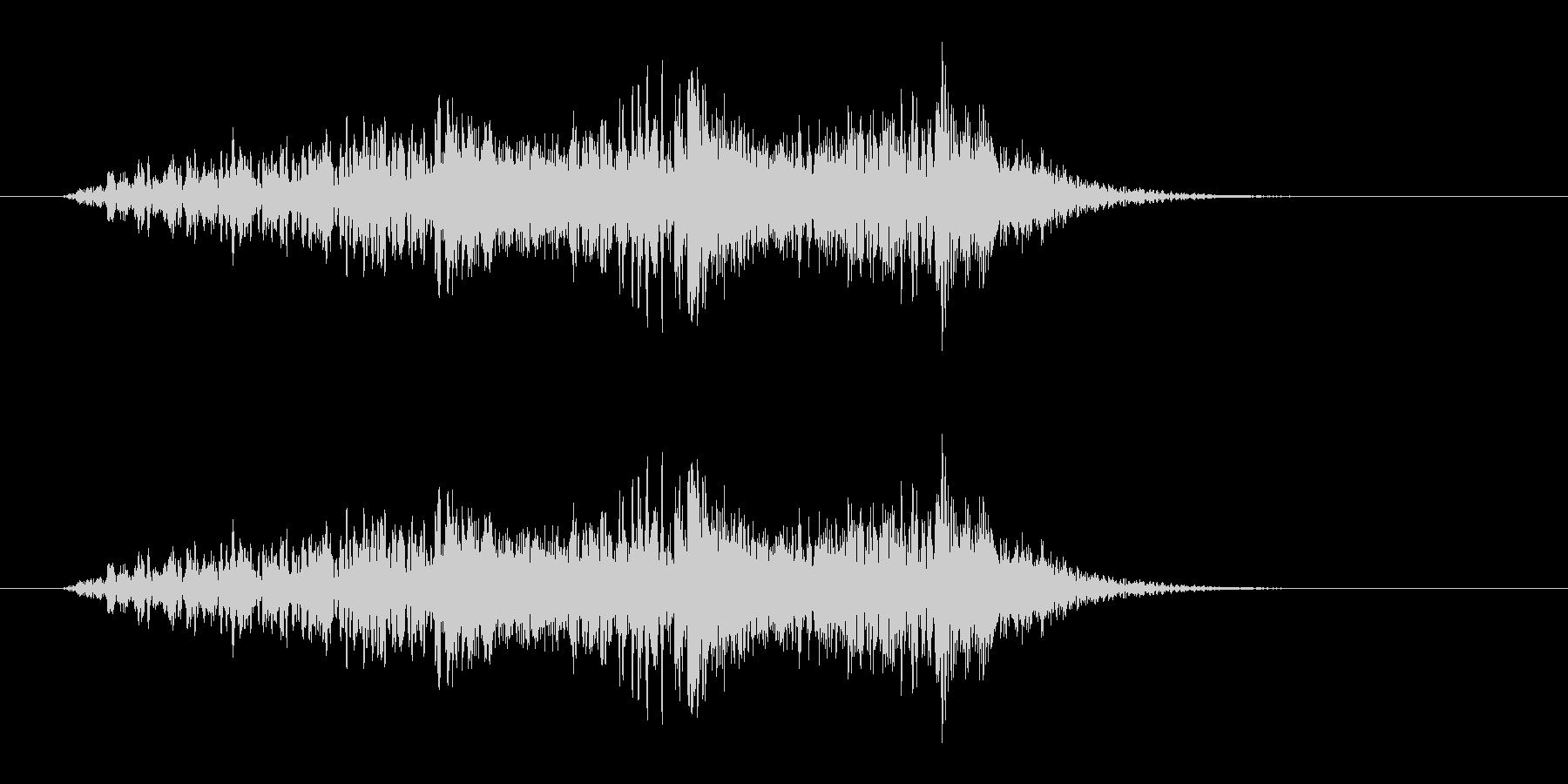 野鳥の鳴き声_03の未再生の波形