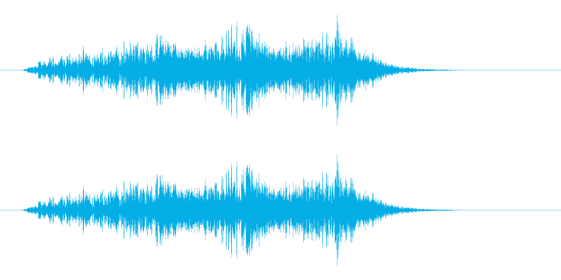 野鳥の鳴き声_03の再生済みの波形