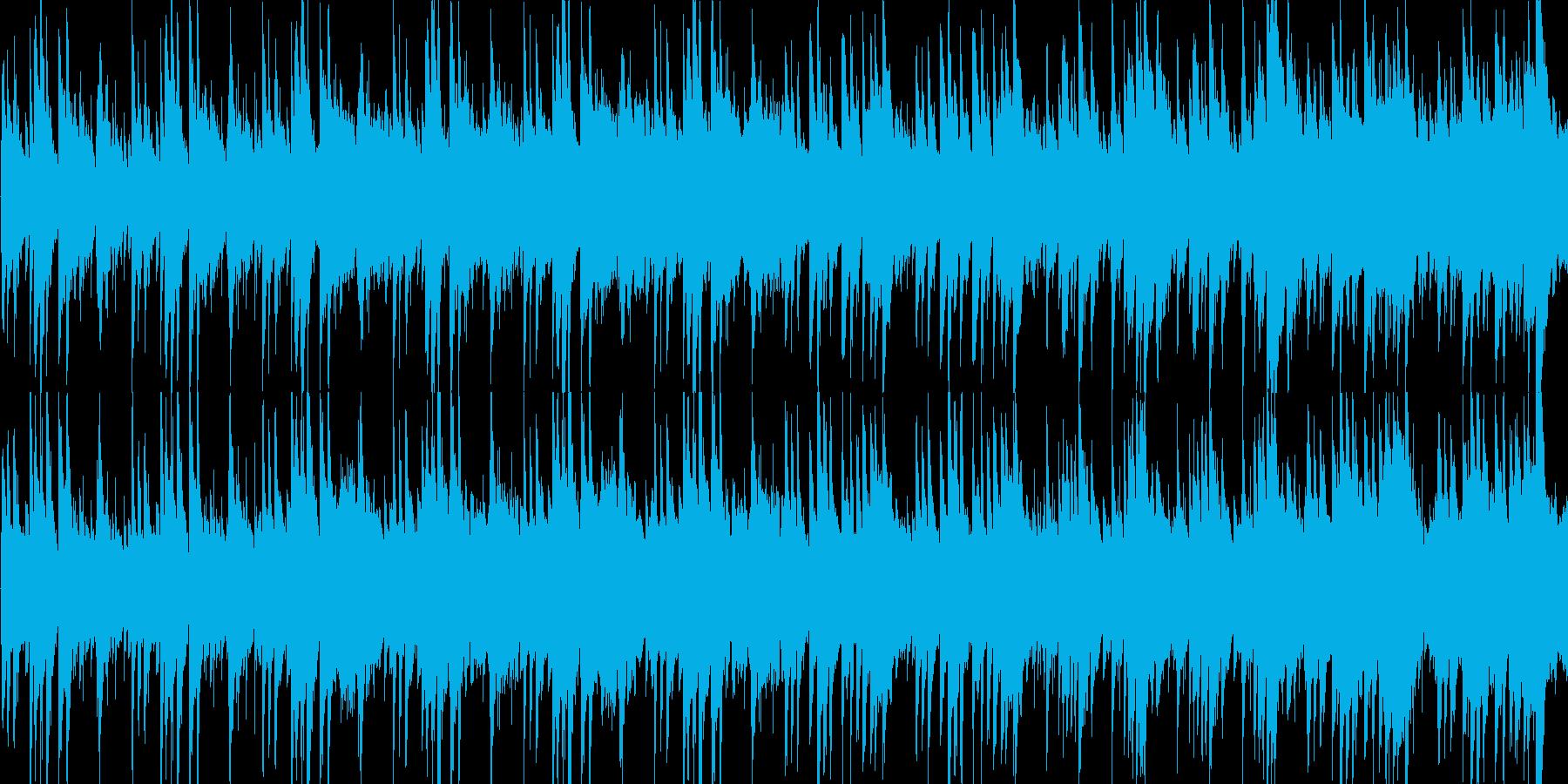 高音質ピアノ都会的BGMスタイリッシュの再生済みの波形