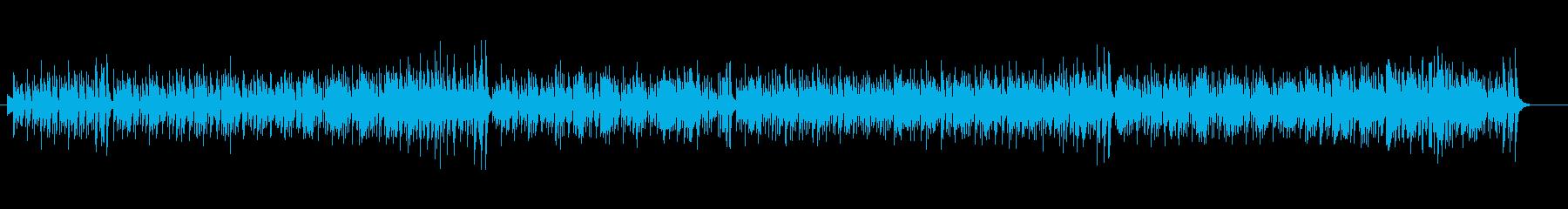 エレガントなボサノヴァ風の再生済みの波形