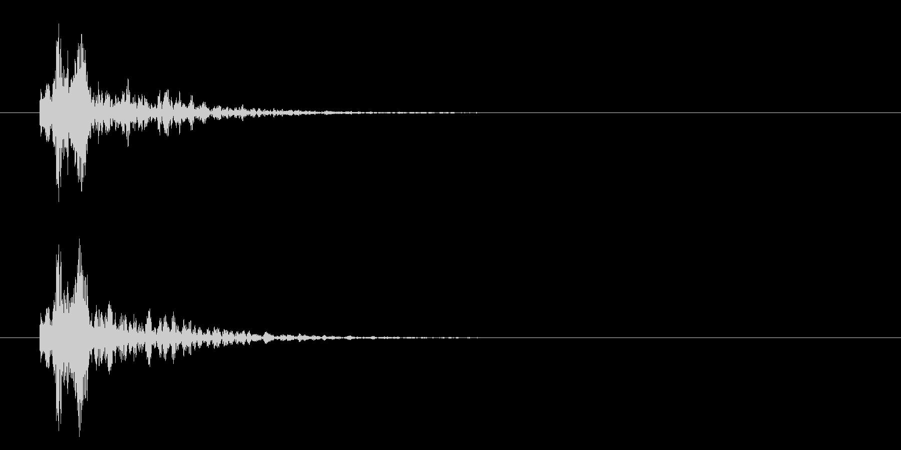 カメラ_シャッター_ストロボの未再生の波形