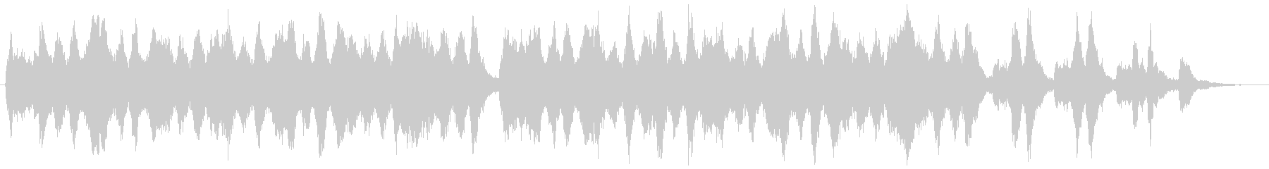 30秒CM・バロック風室内楽・少し哀愁の未再生の波形