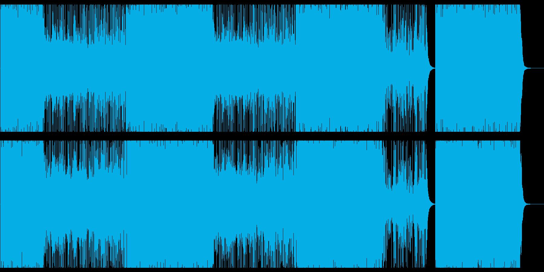 ヒップホップ/バイオリン/クランク808の再生済みの波形