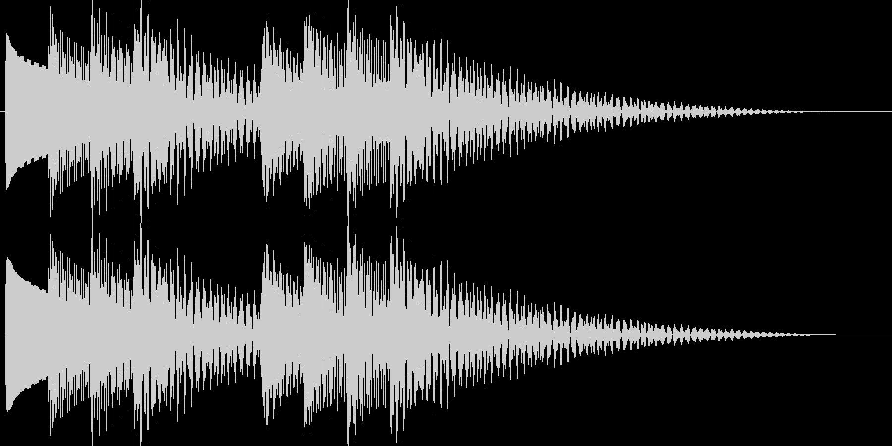 テロリラテロリラ(アラートに最適なベル)の未再生の波形