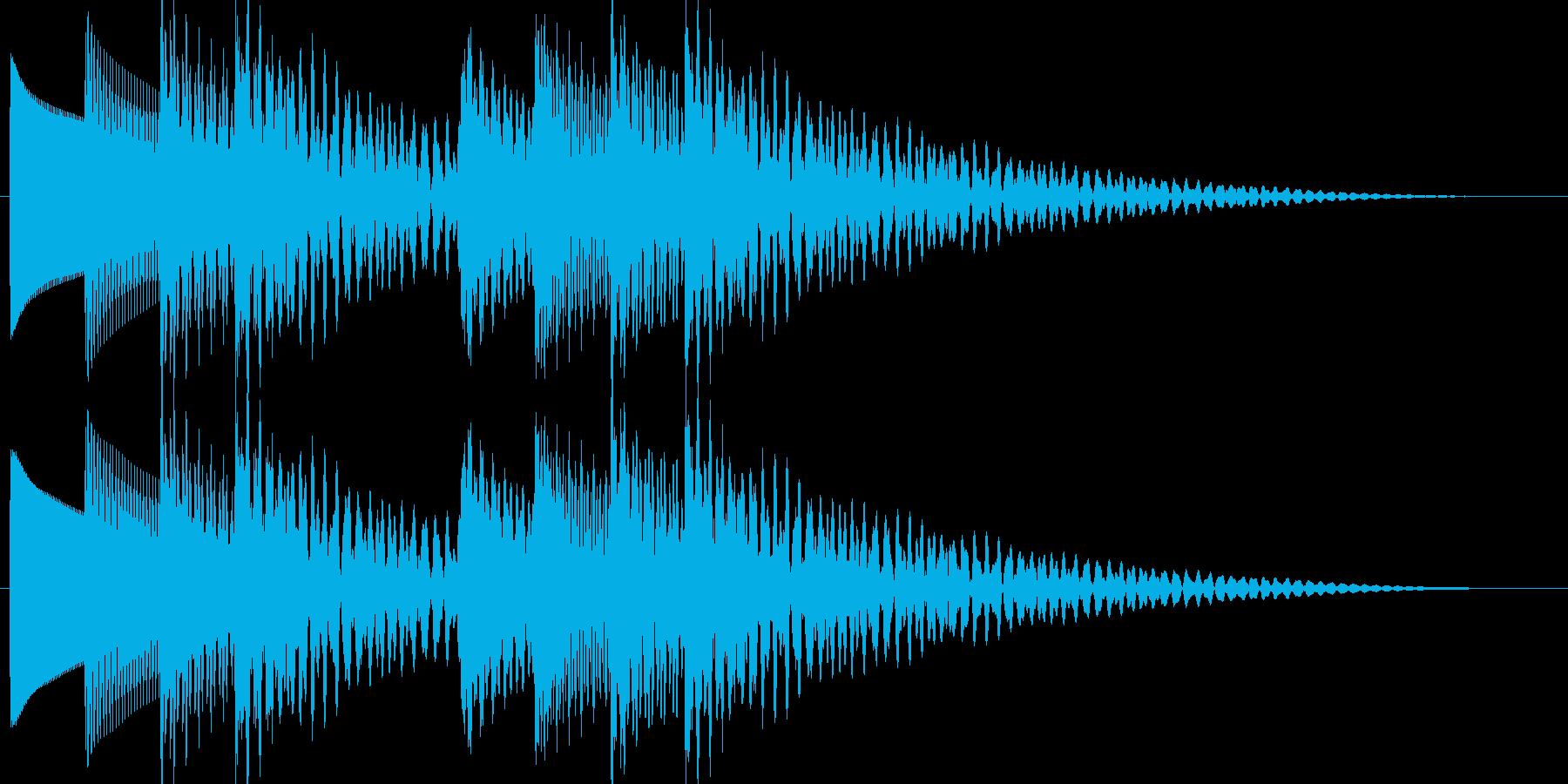 テロリラテロリラ(アラートに最適なベル)の再生済みの波形